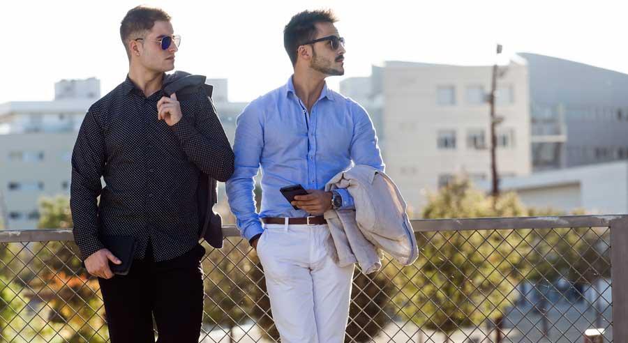 Camisa masculina: un corte para cada ocasión