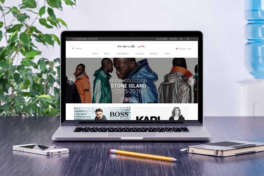 Nuevo estilo para la web de René Jr