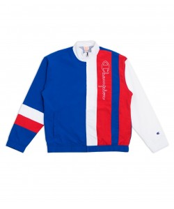 TRI COLOUR BLOCK TRACK JACKET