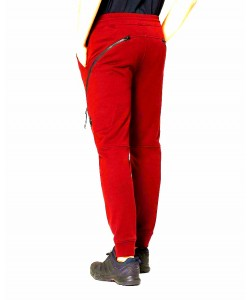 DIAGONAL RAISED FLEECE SWEAT PANT