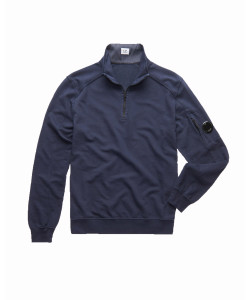 GARMENT DYED LIGHT FLEECE QUARTER ZIP SW
