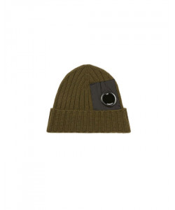 WOOL MIXED LENS BEANIE CAP 236A